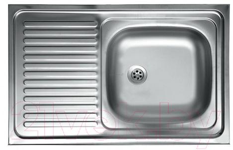 Купить Мойка кухонная КромРус, S 416 RUS (правая), Россия, нержавеющая сталь