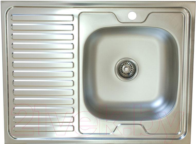 Купить Мойка кухонная КромРус, S 420 RUS (правая), Россия, нержавеющая сталь