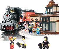 Конструктор Sluban Большой железнодорожный вокзал / M38-B0236 (526эл) -