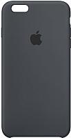 Чехол-накладка Apple Silicone Case для iPhone 6s Plus Charcoal Gray / MKXJ2 -