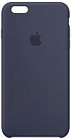 Чехол-накладка Apple Silicone Case для iPhone 6s Plus Midnight Blue / MKXL2 -