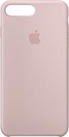 Чехол-накладка Apple Silicone Case для iPhone 8+/7+ Pink Sand / MQH22 -