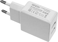 Зарядное устройство сетевое Ginzzu GA-3313UW (белый) -