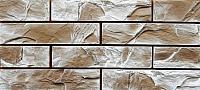 Декоративный камень Baastone Кирпич Ането белая охра 102 (280x60x8-12) -