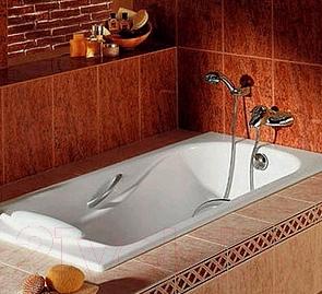 Ванна чугунная Универсал Сибирячка-У 150x75 (1 сорт, с ножками)