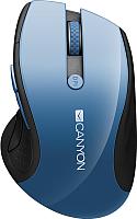 Мышь Canyon CNS-CMSW01BL (синий) -