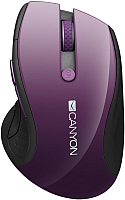 Мышь Canyon CNS-CMSW01P (фиолетовый) -