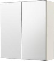 Шкаф с зеркалом для ванной Ikea Лиллонген 103.690.35 (белый) -