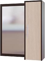 Шкаф навесной Сокол-Мебель ПЗ-4 (венге/беленый дуб) -
