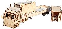 Сборная модель POLLY Грузовик с прицепом и 2 контейнера ТР-01 -