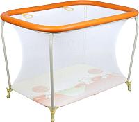 Игровой манеж GLOBEX Классик (оранжевый) -