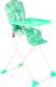 Стульчик для кормления GLOBEX Компакт New (зеленый) -