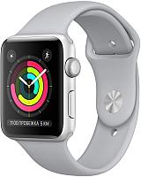 Умные часы Apple Watch Series 3 42mm / MQL02 (серебристый алюминий/дымчатый) -
