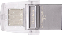 Usb flash накопитель Kingston Data Traveler microDuo 3C 128GB (DTDUO3C/128GB) -