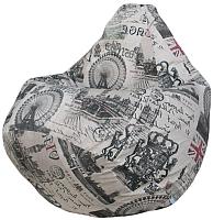 Бескаркасное кресло Flagman Груша Макси Г2.4-03 (Челси) -