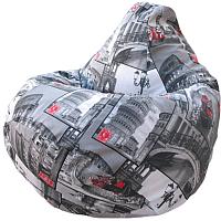 Бескаркасное кресло Flagman Груша Макси Г2.4-08 (Колизео) -