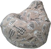 Бескаркасное кресло Flagman Груша Макси Г2.4-09 (Дорадо) -