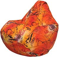 Бескаркасное кресло Flagman Груша Макси Г2.4-13 (Графитис) -