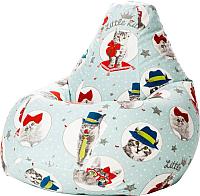 Бескаркасное кресло Flagman Груша Макси Г2.4-17 (Китти) -