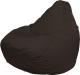 Бескаркасное кресло Flagman Груша Мега Super Г5.2-05 (шоколад) -