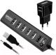 USB-хаб Ginzzu GR-315UAB -