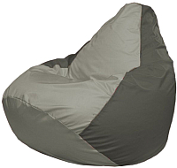 Бескаркасное кресло Flagman Груша Макси Г2.1-351 (серый/темно-серый) -