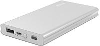 Портативное зарядное устройство Ritmix RPB-10977PQC (серебристый) -