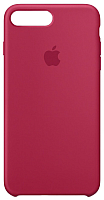Чехол-накладка Apple Silicone Case for iPhone 8 Plus/7 Plus Rose Red / MQH52 -