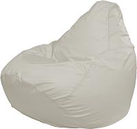Бескаркасное кресло Flagman Груша Мега Super Г5.1-00 (белый) -