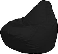 Бескаркасное кресло Flagman Груша Мега Super Г5.1-01 (черный) -