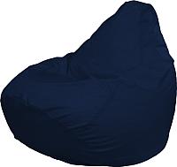 Бескаркасное кресло Flagman Груша Мега Super Г5.1-14 (темно-синий) -