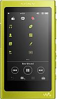 MP3-плеер Sony NW-A37HN (желтый) -