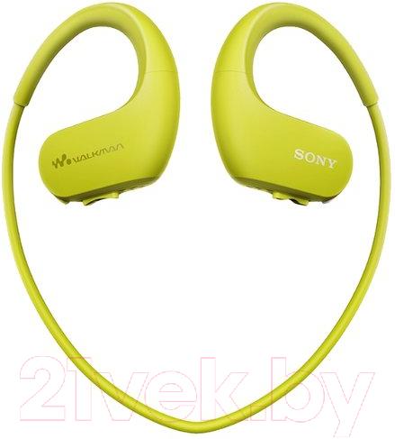 Наушники-плеер Sony, Walkman NW-WS623G (зеленый), Малайзия  - купить со скидкой