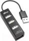 USB-хаб Ritmix CR-2402 (черный) -