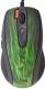 Мышь A4Tech XL-750BK (зеленый/черный) -