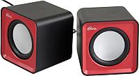 Мультимедиа акустика Ritmix SP-2020 (черный/красный) -