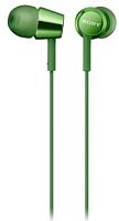 Наушники Sony MDR-EX155G (зеленый) -