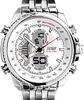 Часы наручные мужские Skmei 0993-2 (белый) -
