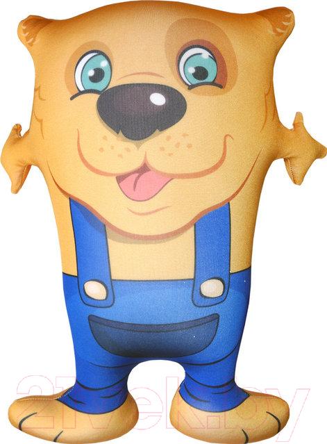 Купить Мягкая игрушка Мнушки, Собака Обнимака желтая / T4643C1711A002YL, Россия, желтый, трикотаж