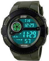 Часы наручные мужские Skmei 1027-3 (зеленый) -