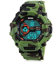 Часы наручные мужские Skmei 1233-1 (зеленый) -