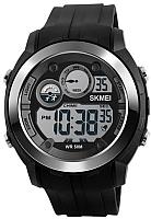 Часы наручные мужские Skmei 1234-1 (черный) -