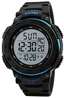 Часы наручные мужские Skmei 1237-2 (черный/синий) -