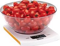 Кухонные весы Sakura SA-6068A (белый/оранжевый) -