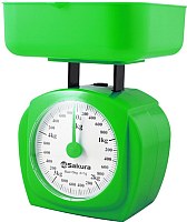 Кухонные весы Sakura SA-6017GR (зеленый) -