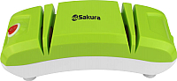 Ножеточка электрическая Sakura SA-6604GR (зеленый) -