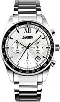 Часы наручные мужские Skmei 9096-2 (белый) -