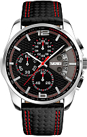 Часы наручные мужские Skmei 9106-1 (красный) -