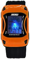 Часы наручные для мальчиков Skmei 0961-3 (оранжевый) -