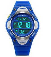 Часы наручные детские Skmei 1077-2 (синий) -